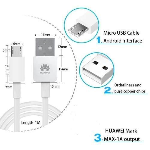 Data cable huawei micro usb orig. p9lite p8 y7 y9 p smart