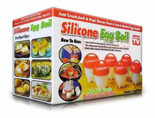 Huevos Cosidos Duro Asistente Cocina Para Huevos En Silicona