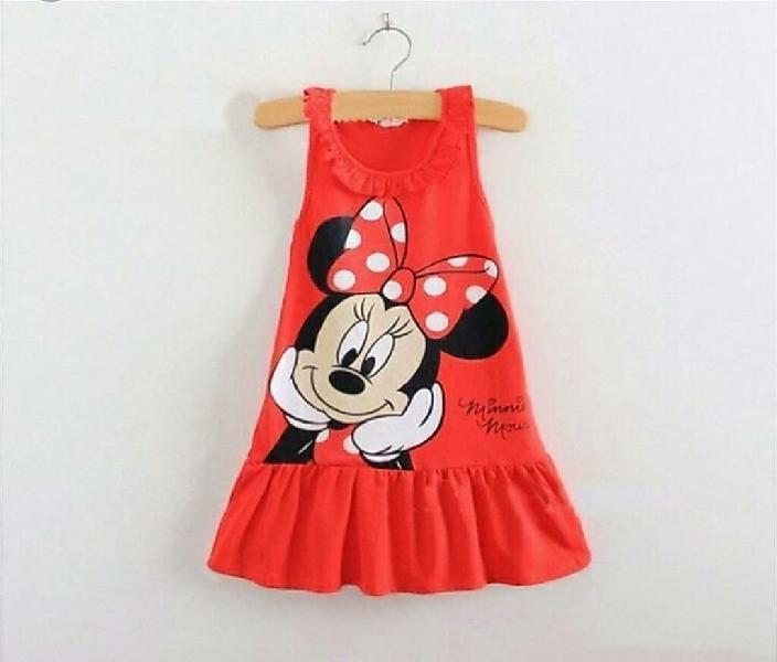 Vestido bebe niña talla 2 mínnie mouse
