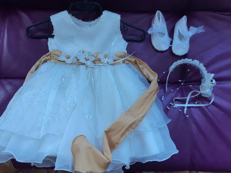 Vestido para bautizo para bebe