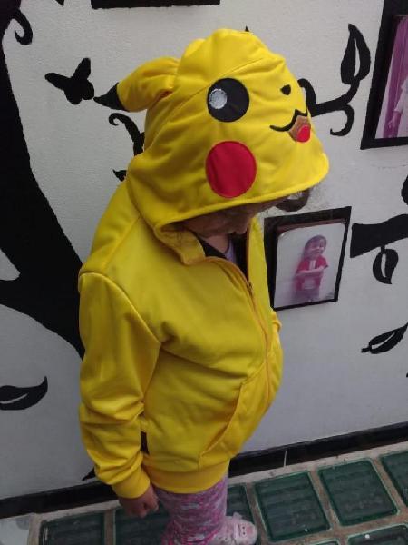 chaqueta pikachu pokemon
