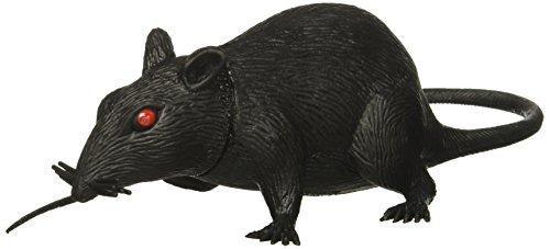 6 rata de plastico con sonido squeaky (qty 1)