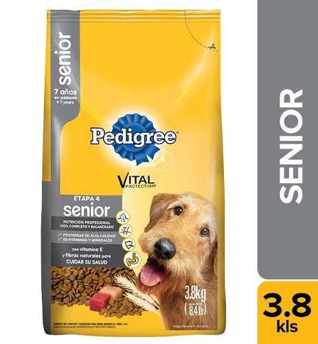 Alimento Para Perro Pedigree Senior X 3,8kg