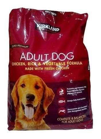 Alimento perro super premi kirkland signature 18kg diamont