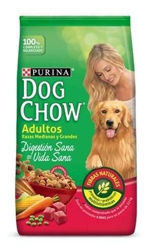 Dog Chow Adulto Raza Med Y Gra 22.7kg - kg a $7500
