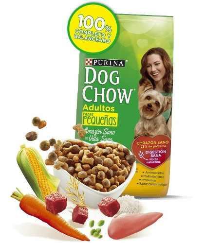 Dog chow adulto razas pequeñasx 17k envio nacional gratis