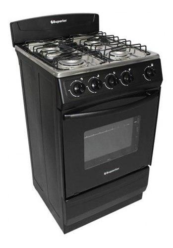Estufa a gas natural negro estufa de piso superior cocina ak