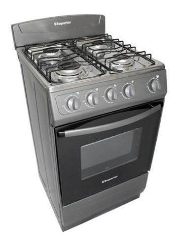 Estufa de piso superior estufa a gas natural gris cocina ak