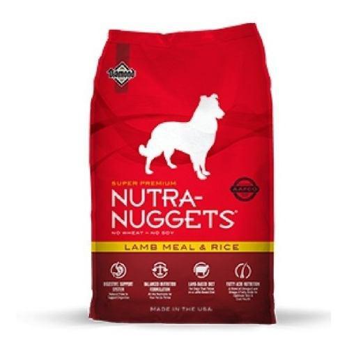 Nutra Nuggets Cordero Y Arroz 15kg +3 - kg a $11944