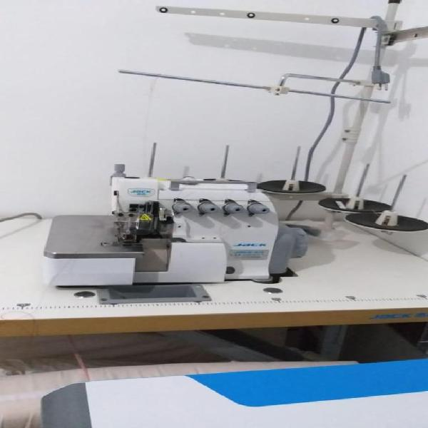 Oferta maquina de coser plana y fileteadora solo por
