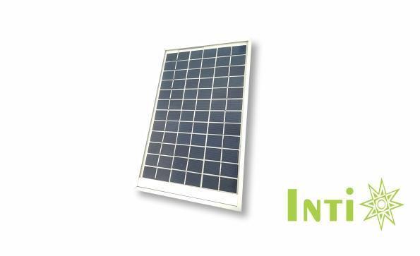 Panel solar fotovoltaico 5 w policristalino18v-0.27a