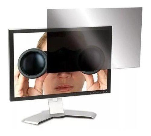 Protector pantalla seguridad 30° 20pul monitor filtro espia