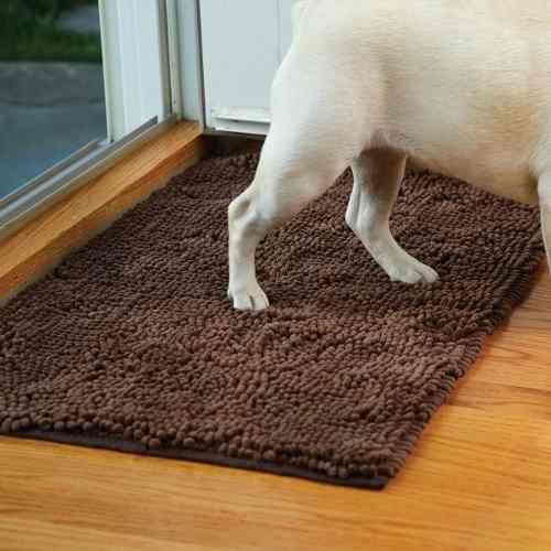 Tapete súper absorbente para mascotas clean pooch felpudo