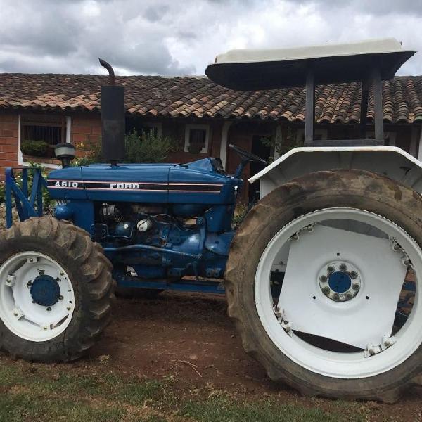 Vendo tractor ford 4610 con doble
