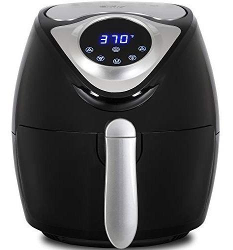 Deco chef xl freidora sin aceite digital air fryer 3.7 qt