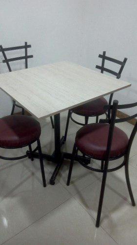 Juegos de sillas y mesas, cafeteria, restaurante