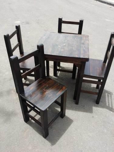 Juegos de sillas y mesas para bar, restaurante y cafetería