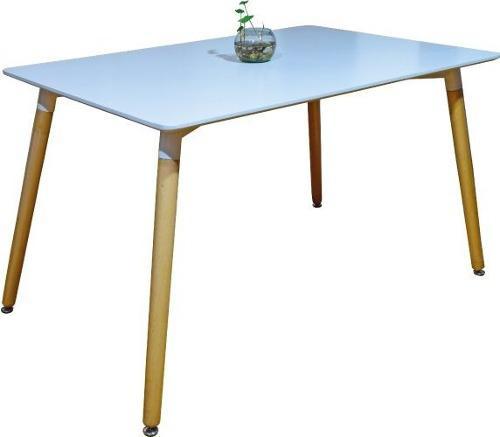 Mesa de restaurante moderna elegante de madera ref. b-03