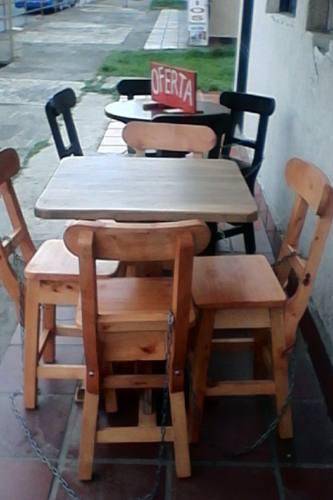 Mesas y sillas bar restaurante cali