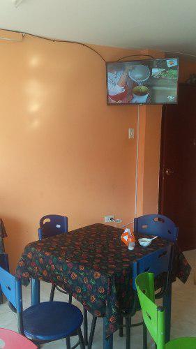 Muebles para restaurante. juego de 4 mesas. 16 sillas.