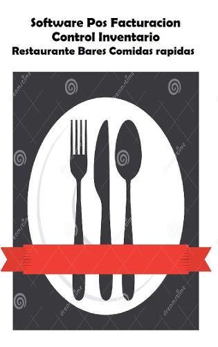 Programa facturacion contabilidad pos restaurante cafeteria
