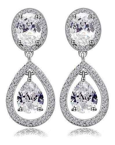 S4 hecho con cristales de swarovski los elegantes aretes de