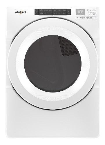 Secadora carga frontal a gas 18kgs - blanca blanca whirlpool