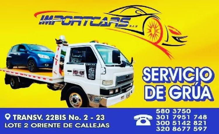 Servicio de grua y carro taller