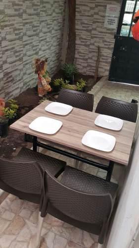Sillas mesas para todo tipo de negocio cafetería,