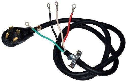 Whirlpool Pt400l Cable De Alimentación Para Secadora De 4