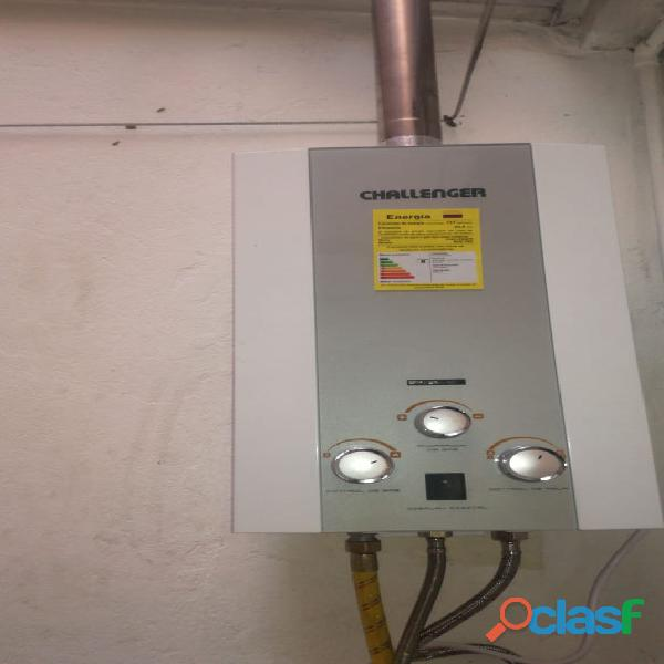 Cambio de calentadores sin ducto de evacuación de gases, instalaciones