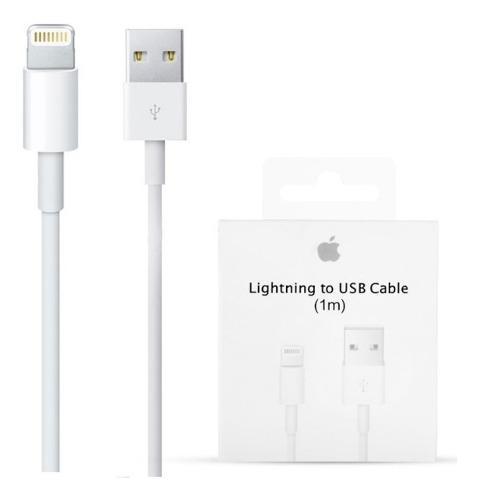 Cable original cargador iphone 5 6 7 x xs lightning 1m