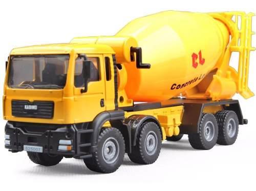 Mezcladora cemento mixer kaidiwei construcción escala 1/50