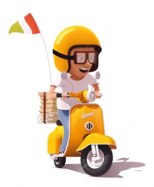 Necesito mensajero con moto
