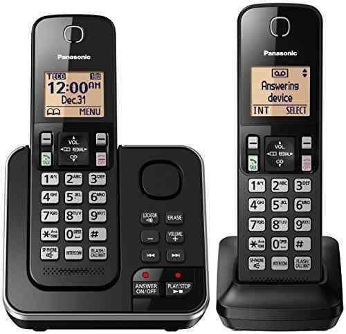 Panasonic kx-tgc362b 2 telefonos para telefonia fija