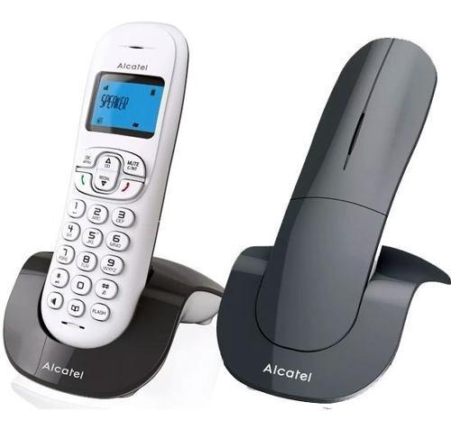 Telefono alcatel c250 inalámbrico altavoz identificador