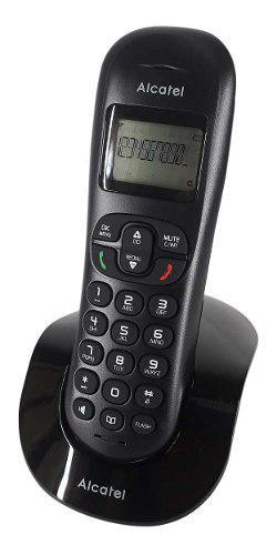 Telefono inalambrico alcatel identificador de llamadas cs250