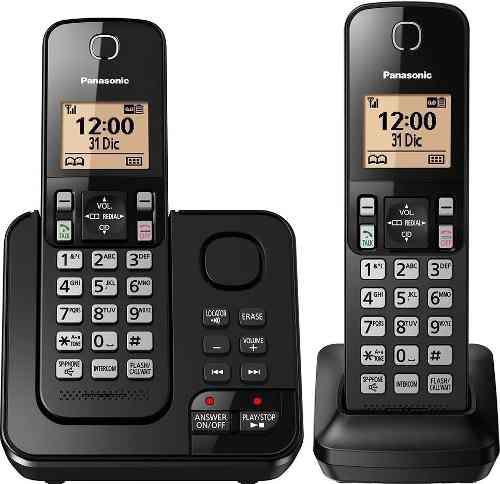 Telefono inalambrico altavoz y contestador panasonic tgc-362