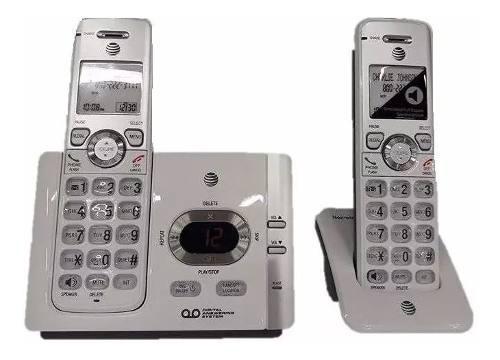 Teléfono inalambrico at&t set 2 unds contestador id el52203