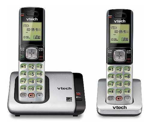 Teléfono inalámbrico doble auricular vtech cs6719-2