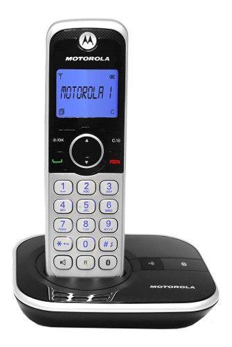 Teléfono inalámbrico motorola identificador bluetooh