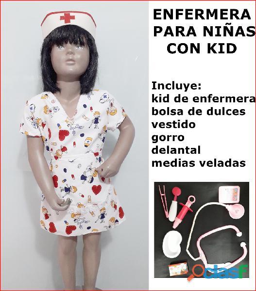 Venta de disfraz NUEVOS de enfermera para las niñas en itagui