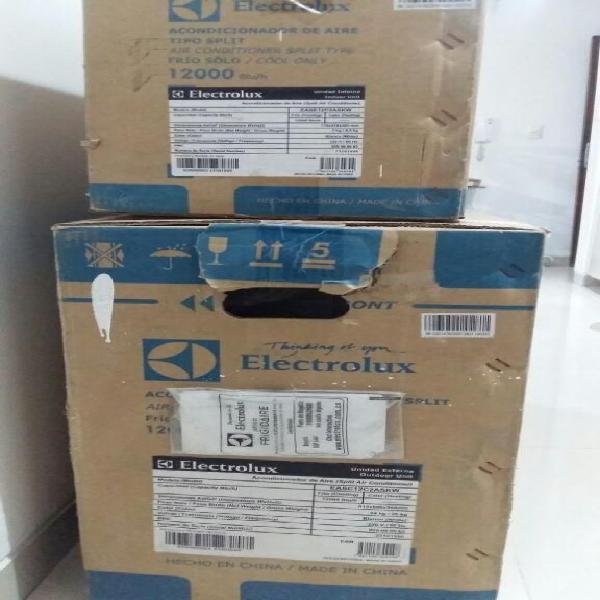 Aire acondicionado nuevo marca:electrolux 12000 btu