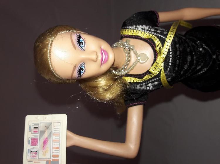 Barbie quiero ser diseñadora de moda (mattel)
