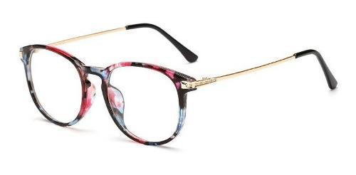 D montura marco gafas lente formulado liviana hombre mujer