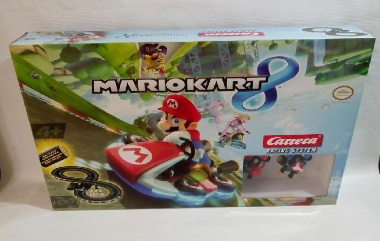 Mario kart 8 pista carreras racing system licencia nintendo