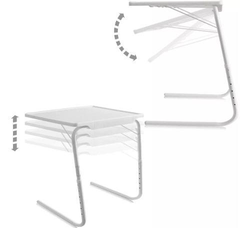 Mesa table mate ajustable multiusos portátil plegable