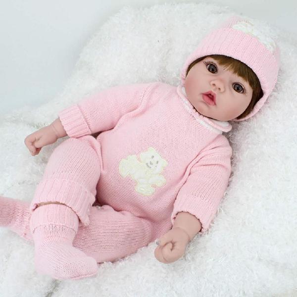 Muñeca bebe recien nacida kaydora 22 pulgadas realista