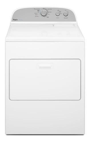 Secadora carga superior a gas 18kgs blanca whirlpool