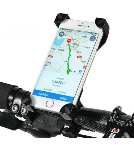 Soporte universal celular manillar bicicleta moto gps